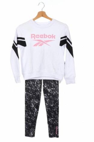 Детски спортен комплект Reebok, Размер 10-11y/ 146-152 см, Цвят Бял, 60% памук, 40% полиестер, Цена 42,90лв.