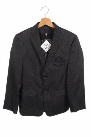 Παιδικό σακάκι Here+There, Μέγεθος 11-12y/ 152-158 εκ., Χρώμα Μαύρο, 89% πολυεστέρας, 8% βισκόζη, 3% ελαστάνη, Τιμή 10,91€