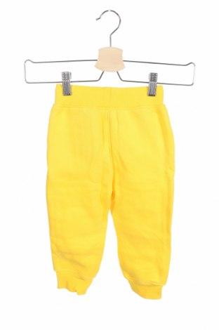 Παιδική κάτω φόρμα, Μέγεθος 3-6m/ 62-68 εκ., Χρώμα Κίτρινο, 55% βαμβάκι, 45% πολυεστέρας, Τιμή 8,35€