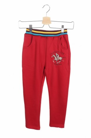 Детско спортно долнище, Размер 7-8y/ 128-134 см, Цвят Червен, Цена 18,70лв.