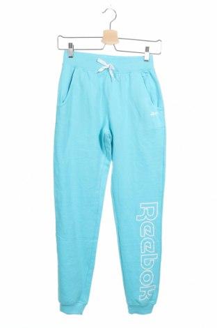 Dětské tepláky Reebok, Velikost 14-15y/ 168-170 cm, Barva Modrá, 60% bavlna, 40% polyester, Cena  376,00Kč