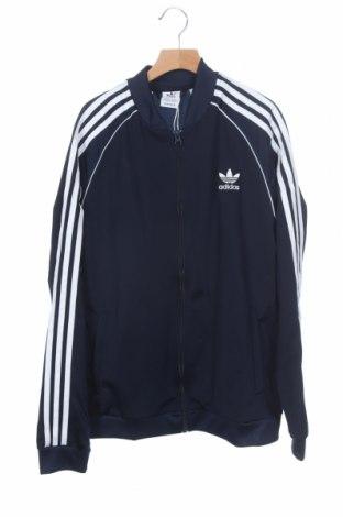 Παιδικό αθλητικό πάνω φόρμα Adidas Originals, Μέγεθος 14-15y/ 168-170 εκ., Χρώμα Μπλέ, Πολυεστέρας, Τιμή 30,54€