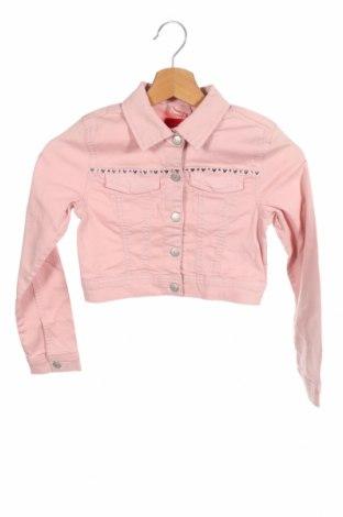 Παιδικό μπουφάν S.Oliver, Μέγεθος 7-8y/ 128-134 εκ., Χρώμα Ρόζ , 98% βαμβάκι, 2% ελαστάνη, Τιμή 16,56€
