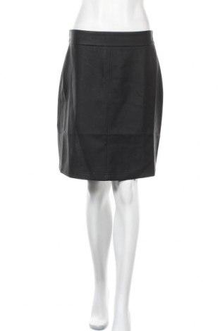 Кожена пола Twist & Tango, Размер M, Цвят Черен, Еко кожа, Цена 15,84лв.
