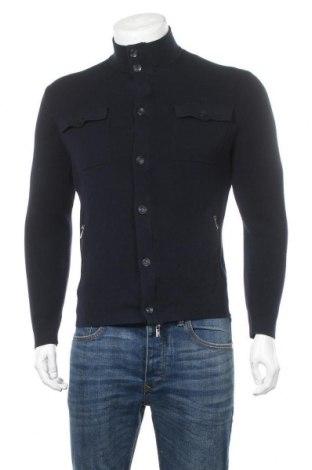 Pánský kardigán Massimo Dutti, Velikost M, Barva Modrá, Bavlna, Cena  511,00Kč