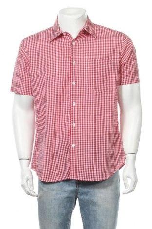 Мъжка риза Accanto, Размер L, Цвят Червен, Памук, Цена 14,96лв.