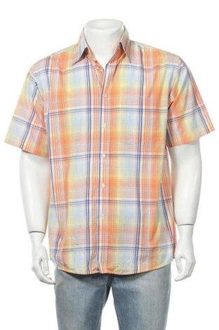 Мъжка риза Biaggini, Размер M, Цвят Многоцветен, Памук, Цена 14,18лв.