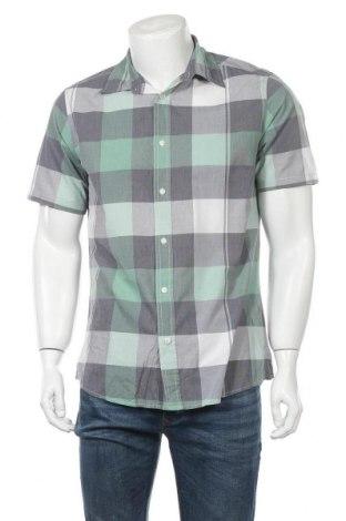 Мъжка риза Biaggini, Размер M, Цвят Многоцветен, 55% памук, 45% полиестер, Цена 15,96лв.