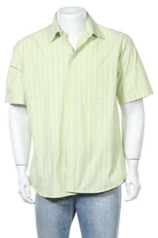 Мъжка риза Biaggini, Размер L, Цвят Зелен, Памук, Цена 15,12лв.