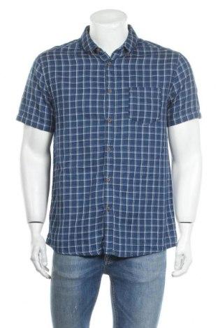 Мъжка риза Burton of London, Размер L, Цвят Син, Памук, Цена 17,96лв.