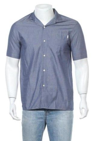 Мъжка риза Burton of London, Размер S, Цвят Син, Памук, Цена 36,00лв.