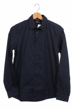 Ανδρικό πουκάμισο Cars Jeans, Μέγεθος S, Χρώμα Μπλέ, 97% βαμβάκι, 3% ελαστάνη, Τιμή 7,60€