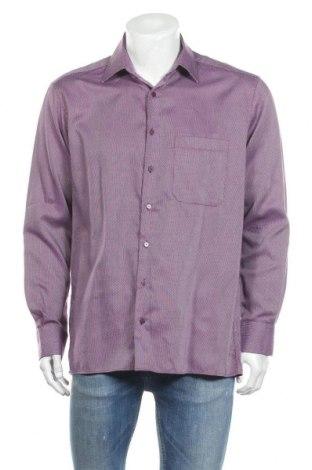 Мъжка риза Eterna, Размер L, Цвят Многоцветен, Памук, Цена 11,64лв.