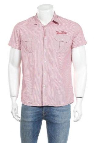 Мъжка риза Fishbone, Размер M, Цвят Червен, Цена 13,23лв.