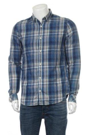 Мъжка риза Garcia Jeans, Размер M, Цвят Многоцветен, Памук, Цена 35,96лв.