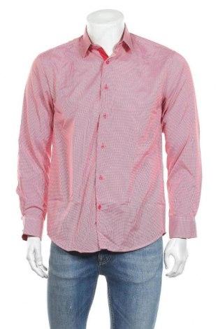 Ανδρικό πουκάμισο Georges Rech, Μέγεθος M, Χρώμα Κόκκινο, 65% βαμβάκι, 35% πολυεστέρας, Τιμή 10,11€