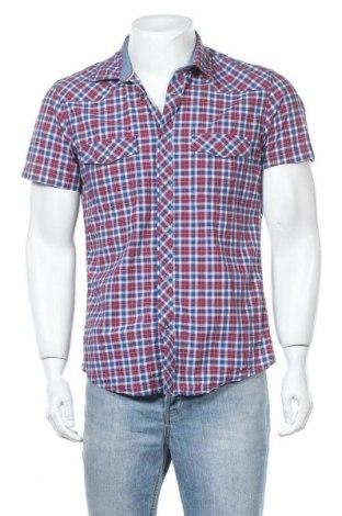 Мъжка риза H&M L.O.G.G., Размер M, Цвят Многоцветен, Памук, Цена 14,18лв.