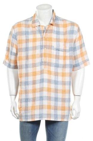 Мъжка риза H&M L.O.G.G., Размер XL, Цвят Многоцветен, Лен, Цена 5,99лв.