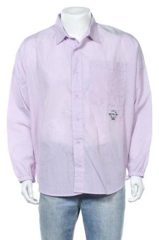 Мъжка риза Jaded London, Размер M, Цвят Лилав, Полиестер, Цена 29,50лв.