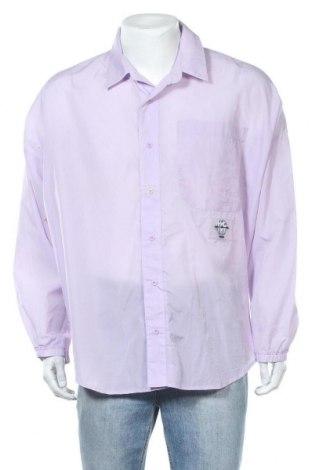Ανδρικό πουκάμισο Jaded London, Μέγεθος L, Χρώμα Βιολετί, Πολυεστέρας, Τιμή 2,50€