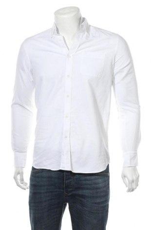 Ανδρικό πουκάμισο Massimo Dutti, Μέγεθος S, Χρώμα Λευκό, Βαμβάκι, Τιμή 8,89€
