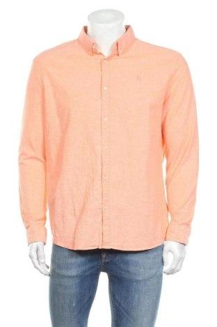 Ανδρικό πουκάμισο McNeal, Μέγεθος XXL, Χρώμα Πορτοκαλί, 98% βαμβάκι, 2% ελαστάνη, Τιμή 12,93€