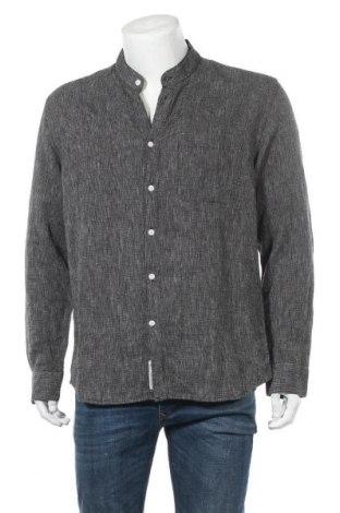Мъжка риза Minimum, Размер XL, Цвят Черен, 55% лен, 45% памук, Цена 68,67лв.