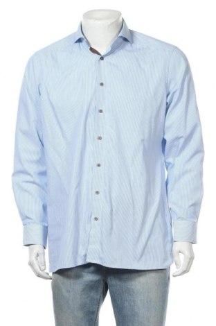 Мъжка риза Olymp, Размер XL, Цвят Син, Памук, Цена 15,96лв.