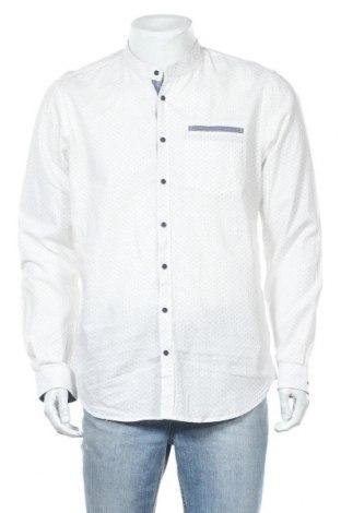 Мъжка риза Piazza Italia, Размер XL, Цвят Бял, Цена 20,95лв.