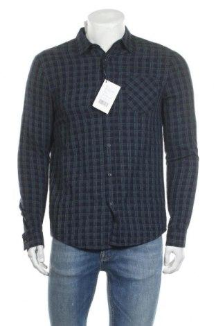 Ανδρικό πουκάμισο Pier One, Μέγεθος S, Χρώμα Μπλέ, Βαμβάκι, Τιμή 2,97€