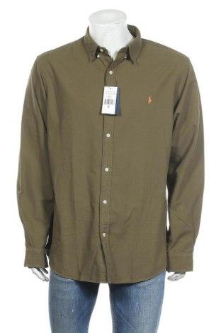 Мъжка риза Ralph Lauren, Размер XXL, Цвят Зелен, Памук, Цена 69,50лв.