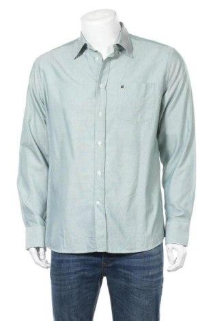 Мъжка риза Red Green, Размер L, Цвят Зелен, Памук, Цена 15,96лв.