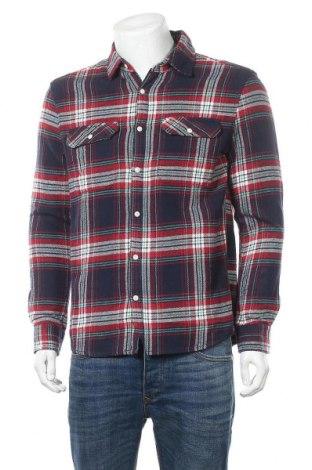 Мъжка риза Review, Размер M, Цвят Многоцветен, Памук, Цена 12,04лв.