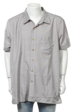 Мъжка риза Rodeo, Размер 3XL, Цвят Сив, 100% полиестер, Цена 10,08лв.