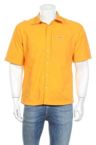 Мъжка риза Schoffel, Размер M, Цвят Жълт, 94% полиамид, 6% еластан, Цена 11,34лв.