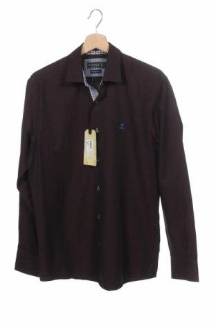 Мъжка риза Sir Raymond Tailor, Размер S, Цвят Кафяв, Памук, Цена 47,60лв.