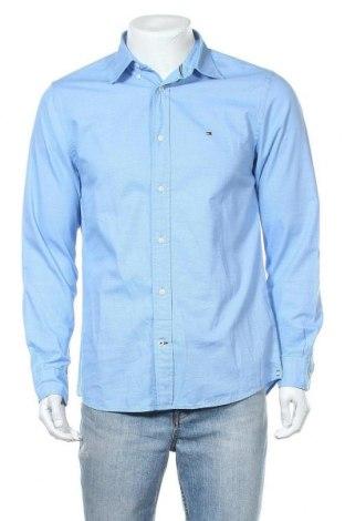 Ανδρικό πουκάμισο Tommy Hilfiger, Μέγεθος M, Χρώμα Μπλέ, Βαμβάκι, Τιμή 46,01€