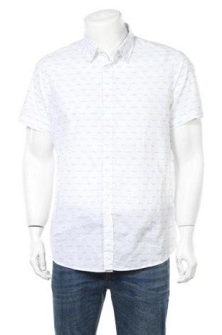 Pánská košile  United Colors Of Benetton, Velikost XXL, Barva Bílá, Bavlna, Cena  447,00Kč