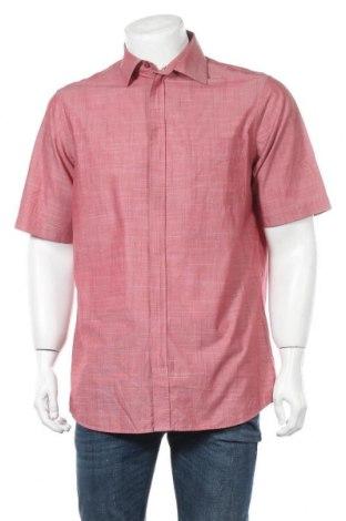 Мъжка риза Walbusch, Размер M, Цвят Червен, Памук, Цена 14,28лв.