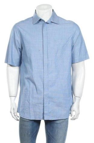Мъжка риза Walbusch, Размер M, Цвят Син, Памук, Цена 8,40лв.
