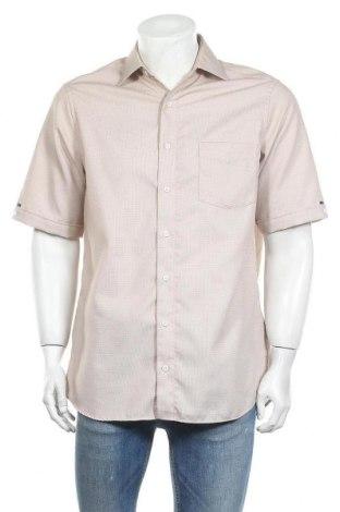 Мъжка риза Walbusch, Размер M, Цвят Бежов, Памук, Цена 7,88лв.