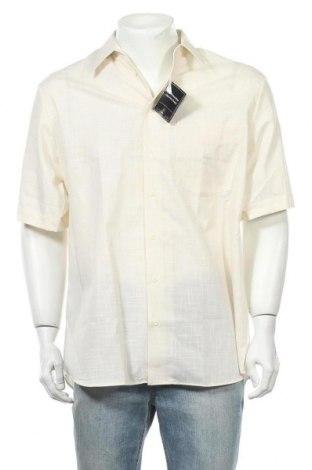 Мъжка риза Walbusch, Размер L, Цвят Бежов, Памук, Цена 23,21лв.