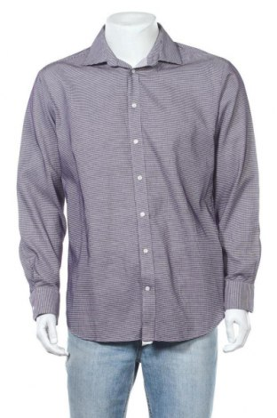 Ανδρικό πουκάμισο Yorn, Μέγεθος L, Χρώμα Βιολετί, Βαμβάκι, Τιμή 4,68€