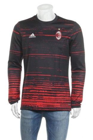 Мъжка спортна блуза Adidas, Размер M, Цвят Черен, Полиестер, Цена 35,70лв.