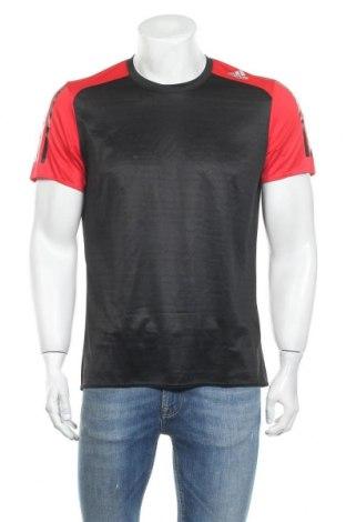 Ανδρικό t-shirt Adidas, Μέγεθος M, Χρώμα Μαύρο, Πολυεστέρας, Τιμή 11,15€