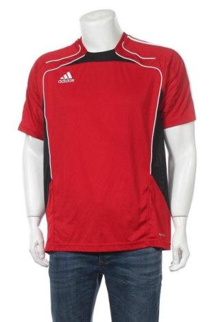 Ανδρικό t-shirt Adidas, Μέγεθος L, Χρώμα Κόκκινο, Πολυεστέρας, Τιμή 5,36€