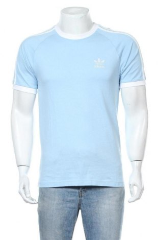 Ανδρικό t-shirt Adidas Originals, Μέγεθος S, Χρώμα Μπλέ, Βαμβάκι, Τιμή 19,56€