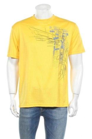 Мъжка тениска Atlas For Men, Размер L, Цвят Жълт, Полиестер, Цена 9,45лв.