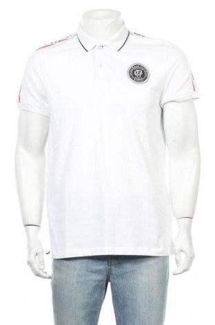 Мъжка тениска Bruno Banani, Размер L, Цвят Бял, 95% памук, 5% еластан, Цена 36,75лв.