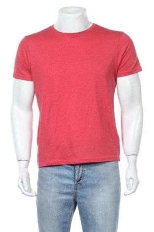 Мъжка тениска Burton of London, Размер M, Цвят Червен, 60% памук, 40% полиестер, Цена 28,56лв.